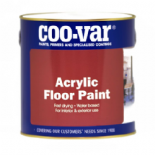 Coo-Var Acrylic Water Based Floor Paint